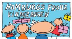 Hamburgs frohe Kinderaugen